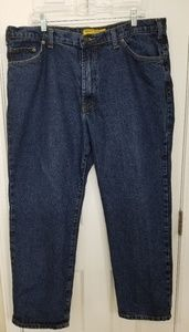 3 EUC Real Ranch Blue Jeans 40x30